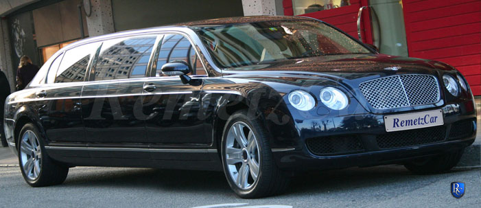 RemetzCar stretched Bentley Flying Spur limousine Limousine