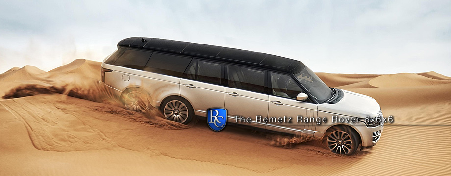 The Remetz Range Rover 6x6x6